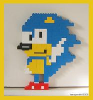 Lego Sonic the Hedgehog by Shadowed-White-Angel