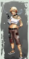 Punk chick- Semie final design by ElsaKroese