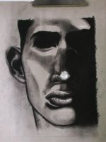 Charcoal Portrait by estkm