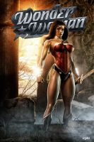 THE AMAZONIAN WONDERWOMAN by isikol