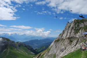 Mt. Pilatus IV by spectral-stock