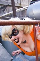 Harley Quinn- Arkham Orange by darkmoonchild