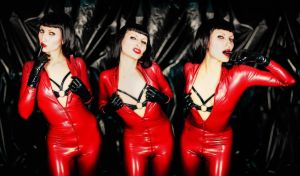 Latex Redhot by NathashahMMM