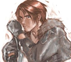 FF 8 - Squall Upclose by Xenogia