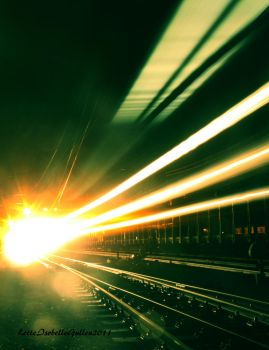 Train ride to nowhere II by deadvittra