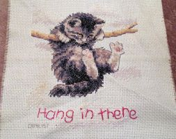 Hang in There by StitchingSin