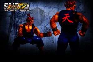 Akuma Street Fighter Wallpaper 2 by 1kamz