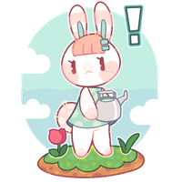 [p]: a bun has moved in! by blushbun