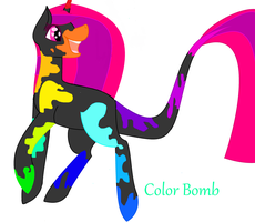 MLP Adopt: Color Bomb (closed) by MyOCPastelRainbow
