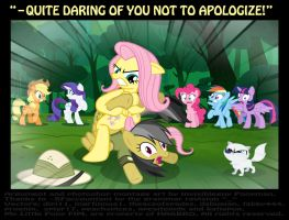 Daring Don't! (deleted scene) by INVISIBLEGUY-PONYMAN