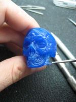 Skull ring tutorial 9 by flintlockprivateer