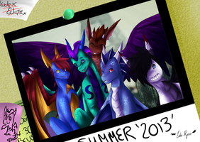 Summer 2013 with Skye and Friends by Loki-Ryuu