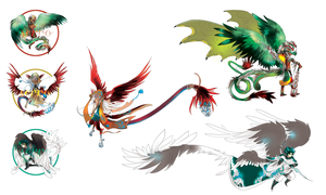 FEATHERED SERPENT adopts [CLOSED] by ensoul