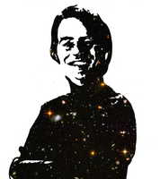 Carl Sagan - Pop art by Abstract-scientist
