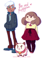 Bee And Puppycat by TalaSeba