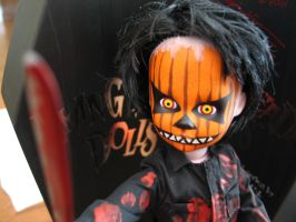 Pumpkin Living Dead Doll by gabby-d