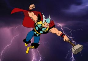 The Mighty Thor by VintonHeuck