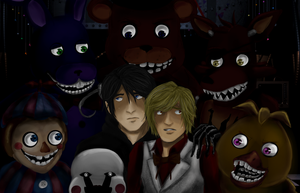Dip into Five Nights at Freddy's by PippingLad