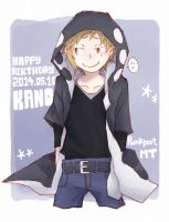 Happy Birthday Kano! by ploy-nodoka