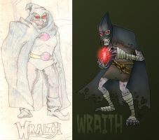 The Wraith 1992 - 2010 by DBed