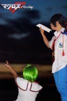 MF - Fly paper plane..Fly by Naokoko