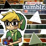 Legend of Tumblr collage by OMGZombieUnicorn