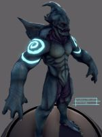 Tidal Demon Wip03 by Arkadius