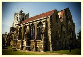 Waltham Abbey by AbiGriffey