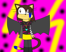 Amy the Kittybat -official new look 8D- by AmytheRaichu