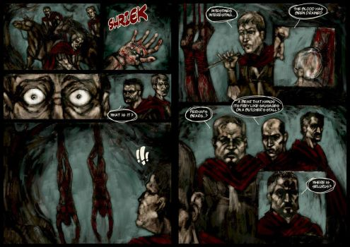 LEGION - Sample 2-Page Spread by narcoloth