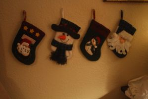 The Stocking Were Hung (On the Wall) with Care by GuineverePhotos