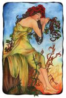 Mucha's Seasons - Summer by Niuta71