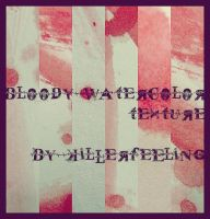 bloody watercolor texture pack by crazythis