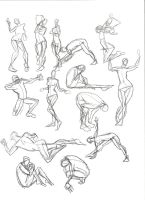 A Year of Gesture Drawing: 021-22/365 by TommyOliverDraws