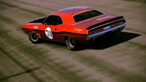 1970 Dodge Challenger R/T Race Car by Vertualissimo