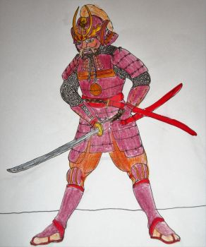 Samurai of the Iron Mountain by CannicusPalentine