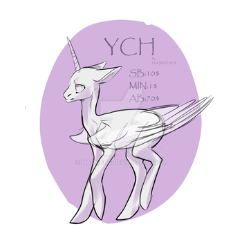 MLP YCH [ CLOSED ] by Haskiens