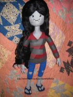My Largest Needle Felted Marceline (2) by CatsFeltLings