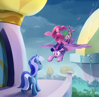Express Party Delivery by ScootieBloom