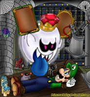 Luigi's Mansion - Good night by Princesa-Daisy