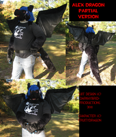 Black Dragon Partial Ver. by VenturertheHybrid