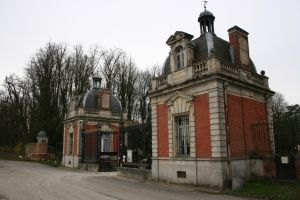 The Gates to the Chateau by Cat-in-the-Stock