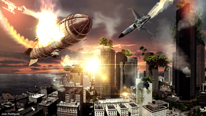 City Under Attack by iBlackrow