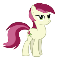 Scrapped Roseluck Vector by Unknowni123