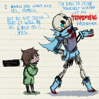HorrorSwap Sans 2 by Drowning-In-The-Void