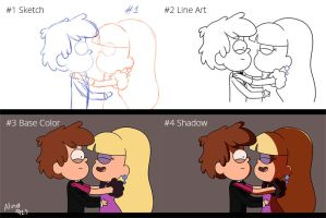My MAP part (process) GIF by AlinaCat923