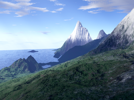 Terragen background stock 2 by AlzirrSwanheartStock