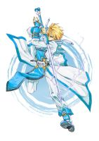 Ky Kiske: Ride the Lightning by Nick-Ian