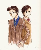 Ten and Eleven by liltrix7