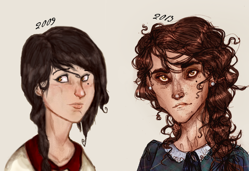 -They Grow Up So Fast- by HennaFaunway